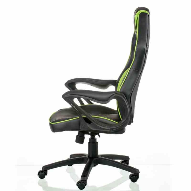 Крісло Nitro Black/Green 0