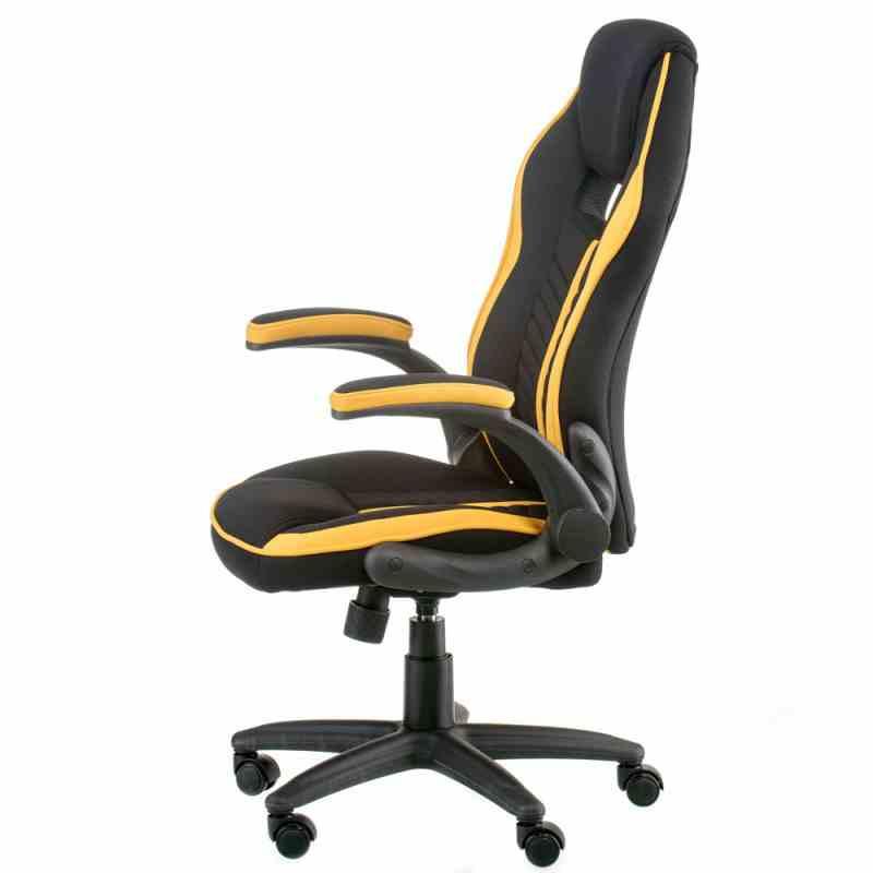 Крісло Prime black/yellow 0