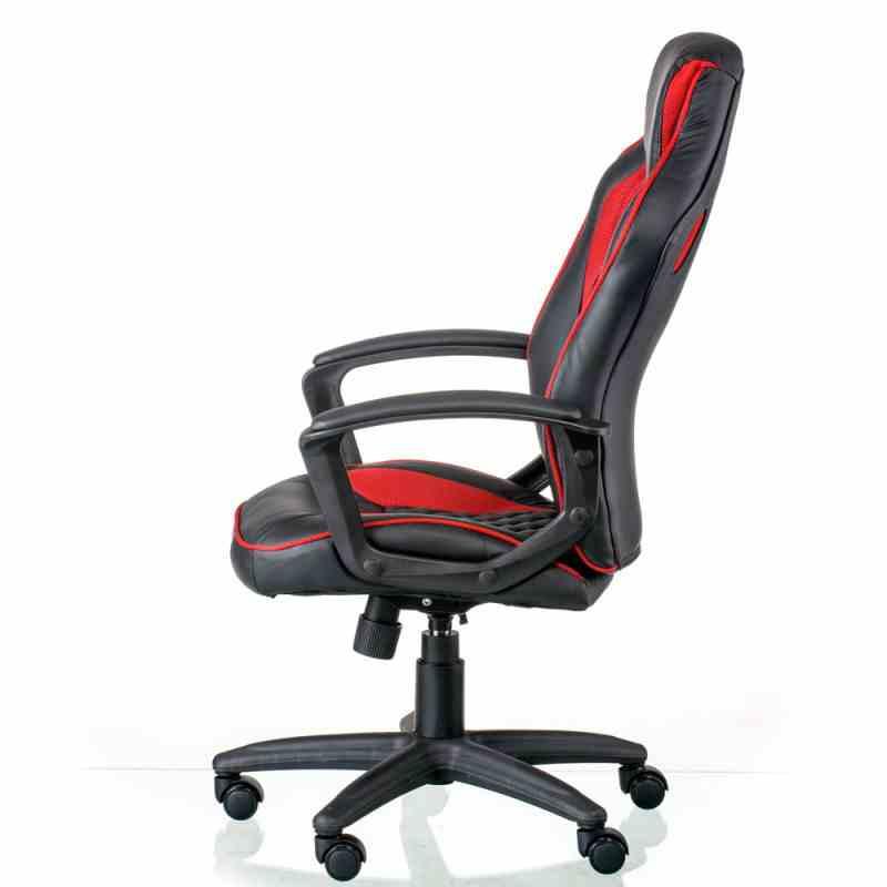 Крісло Mezzo Black/Red 0