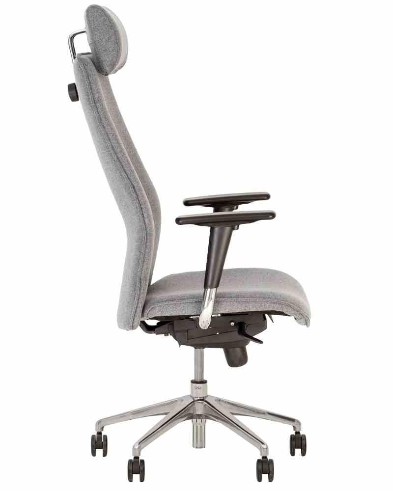 Крісло SOLO R HR steel ES AL70 з «Синхромеханiзмом» 1