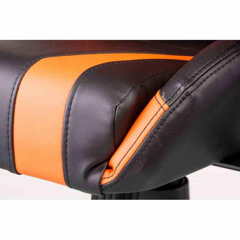 Крісло ExtremeRace black/orange 7