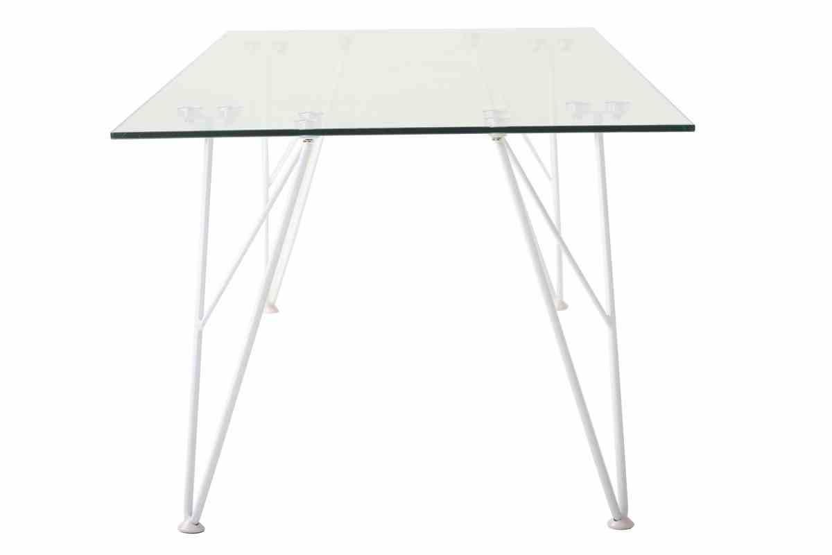 Журнальний стіл C-185 прозорий 4