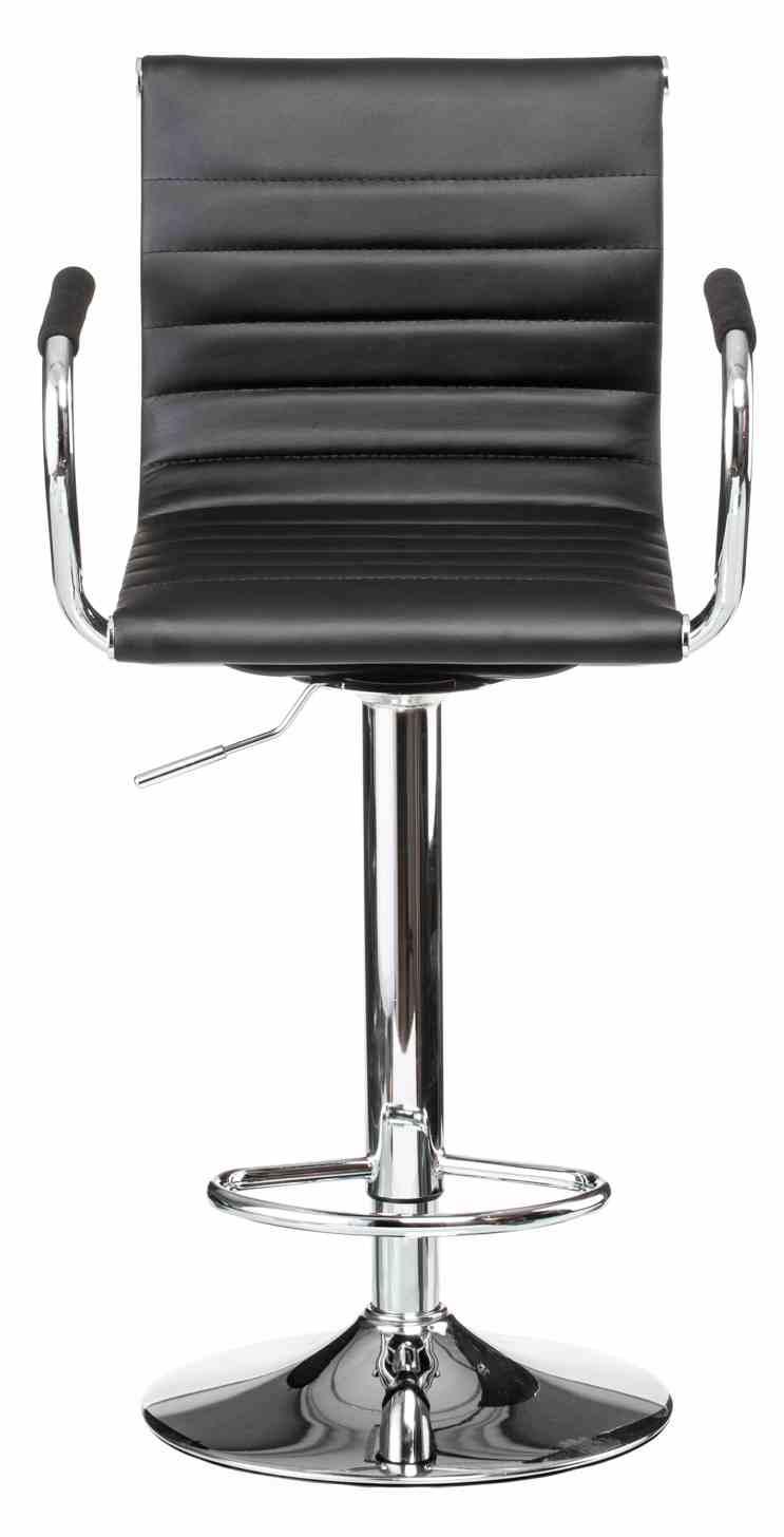 Барний стілець Bar black platе 0