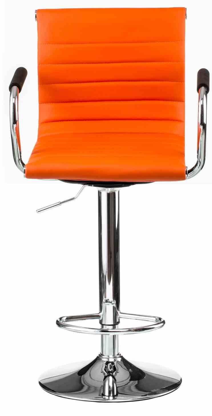 Барний стілець Bar orangе platе 0