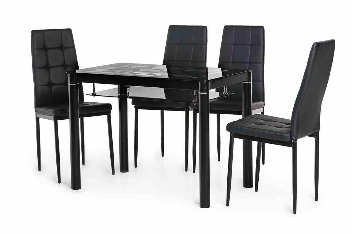 Обідній стіл Т-300-2 чорний 0