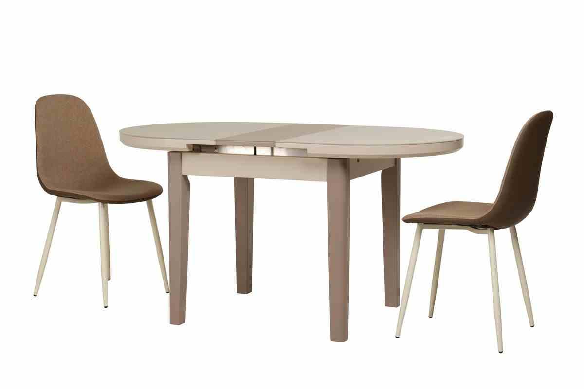 Обідній стіл TM-75 капучино-латте 6
