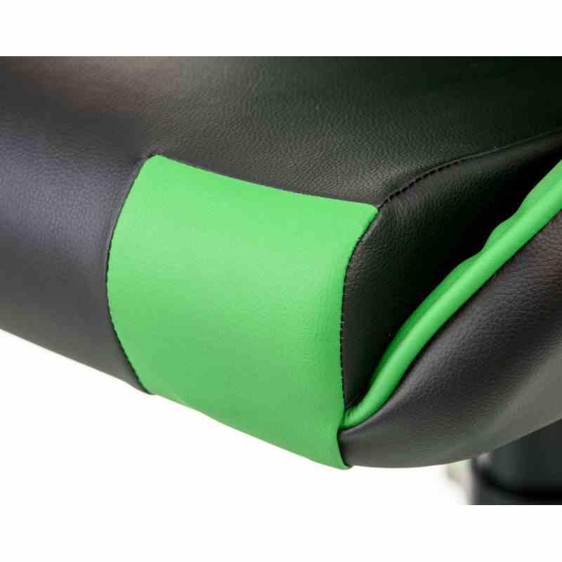 Крісло ExtremeRace black/green 11