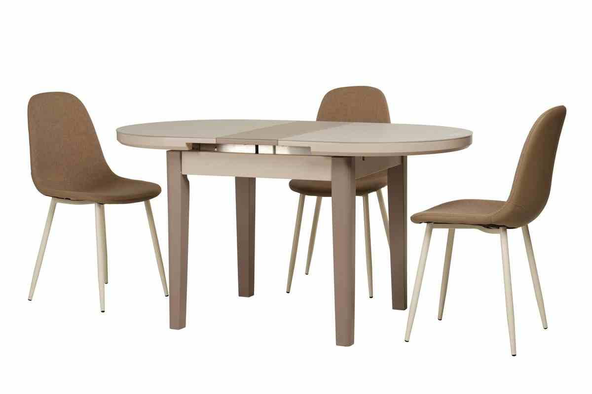 Обідній стіл TM-75 капучино-латте 7