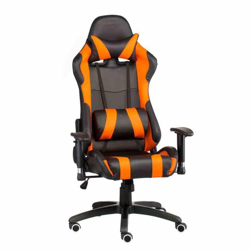 Крісло ExtremeRace black/orange 4