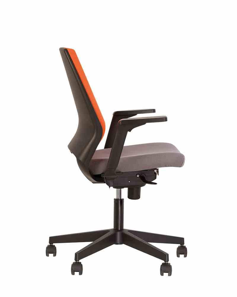 Крісло офісне 4U R 3D black ES PL70 з Синхромеханізмом 1
