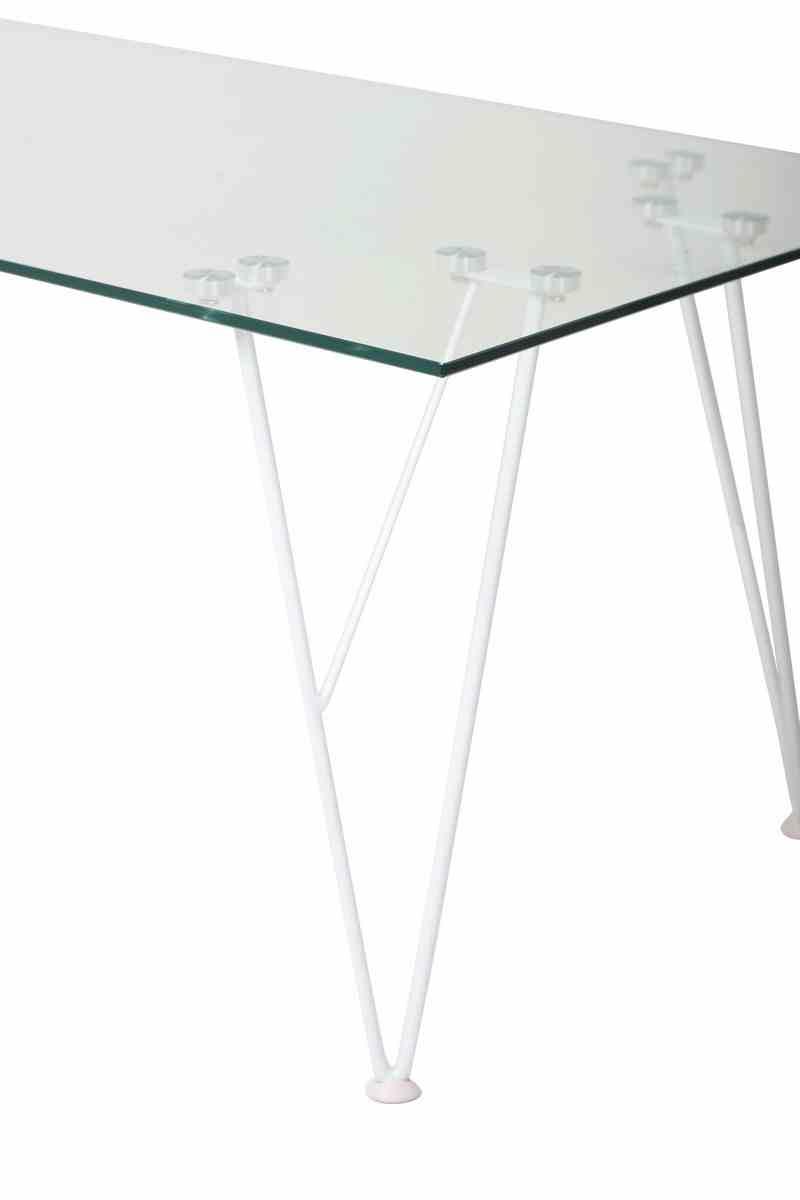 Журнальний стіл C-185 прозорий 1