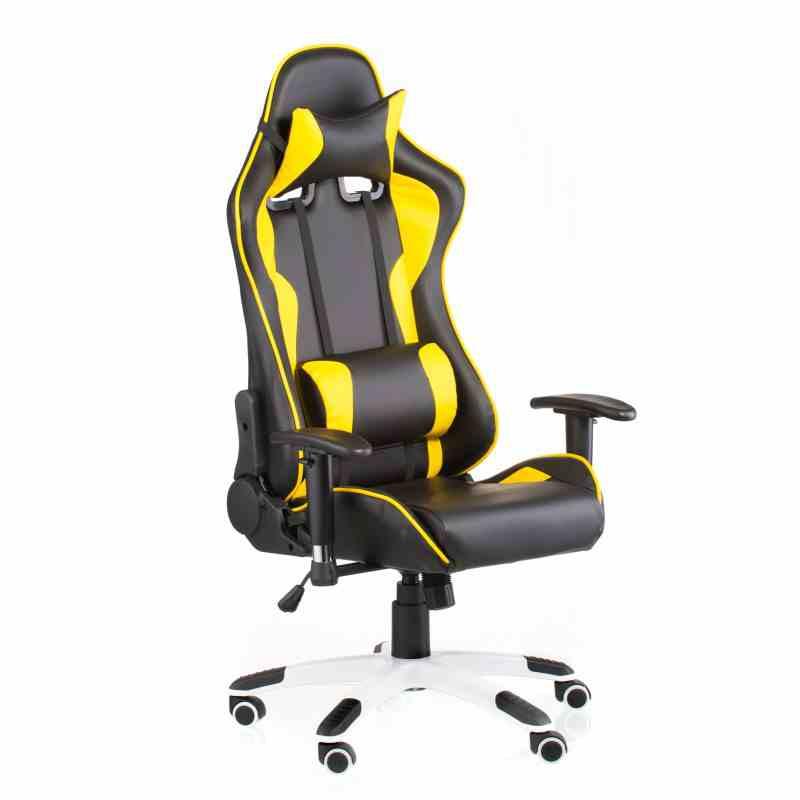 Крісло ExtremeRace black / yellow 4