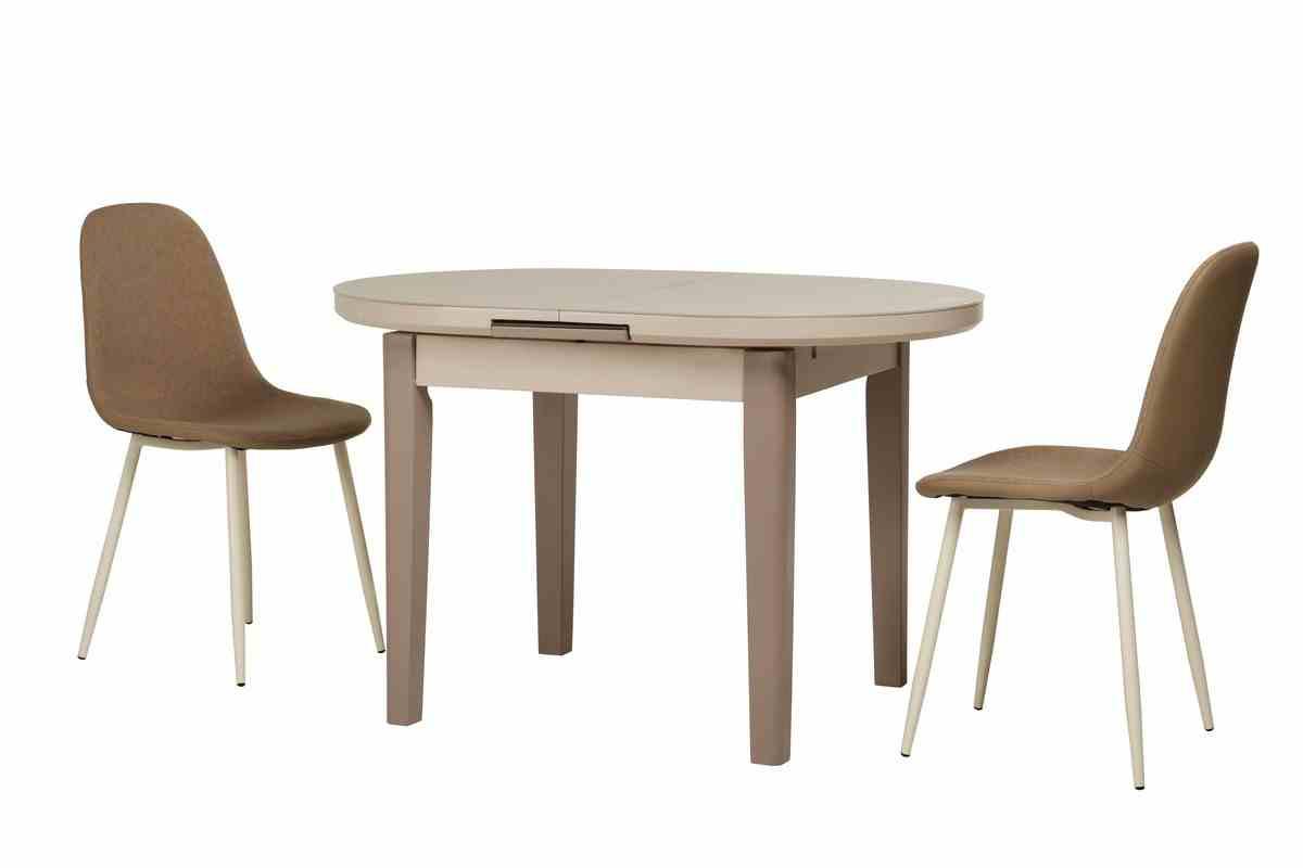 Обідній стіл TM-75 капучино-латте 9