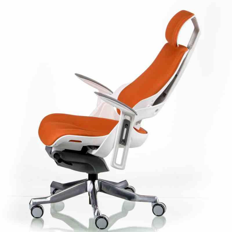 Крісло WAU MANDARIN FABRIC WHITE 5