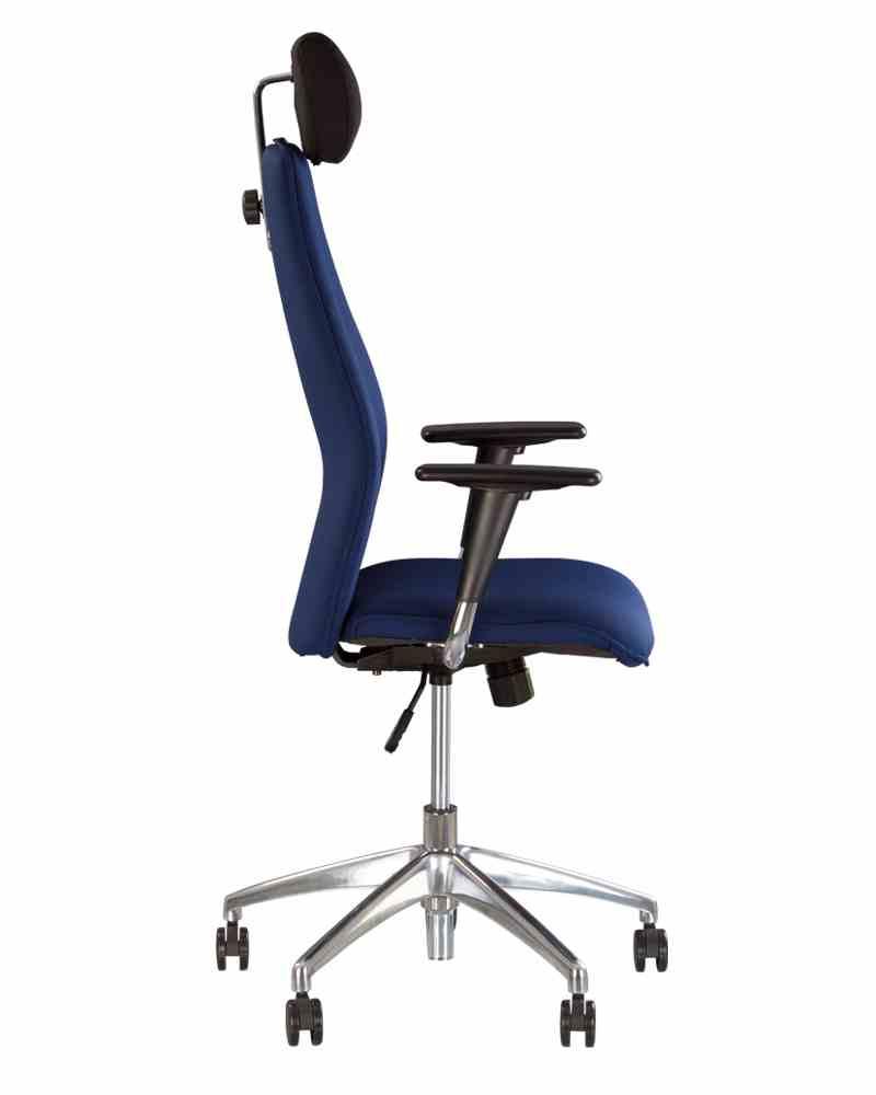 Крісло SOLO R HR steel SL AL70 з «Синхромеханiзмом» 1