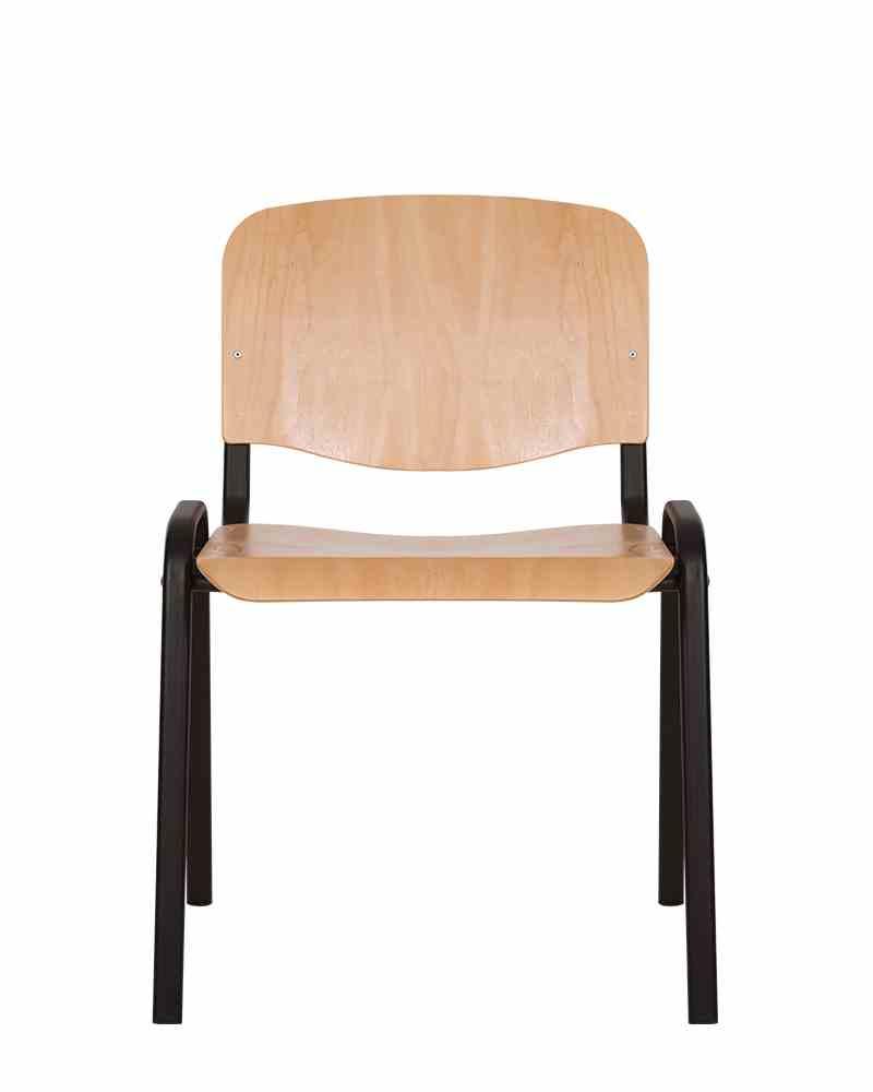 Стілець офісний ISO wood black 0