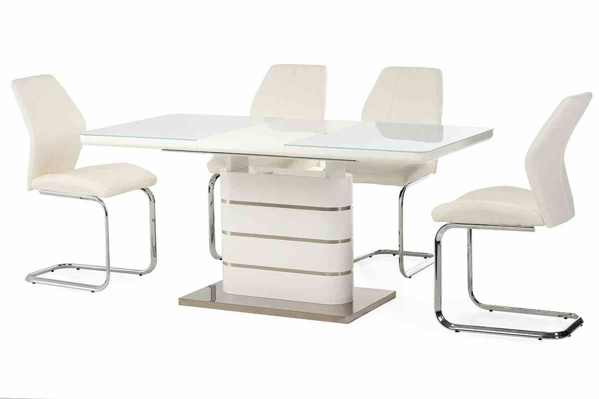 Обідній стіл TM-52-1 білий 7