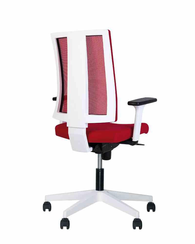 Крісло офісне NAVIGO R net white ES PL71 з «Синхромеханiзмом» 0
