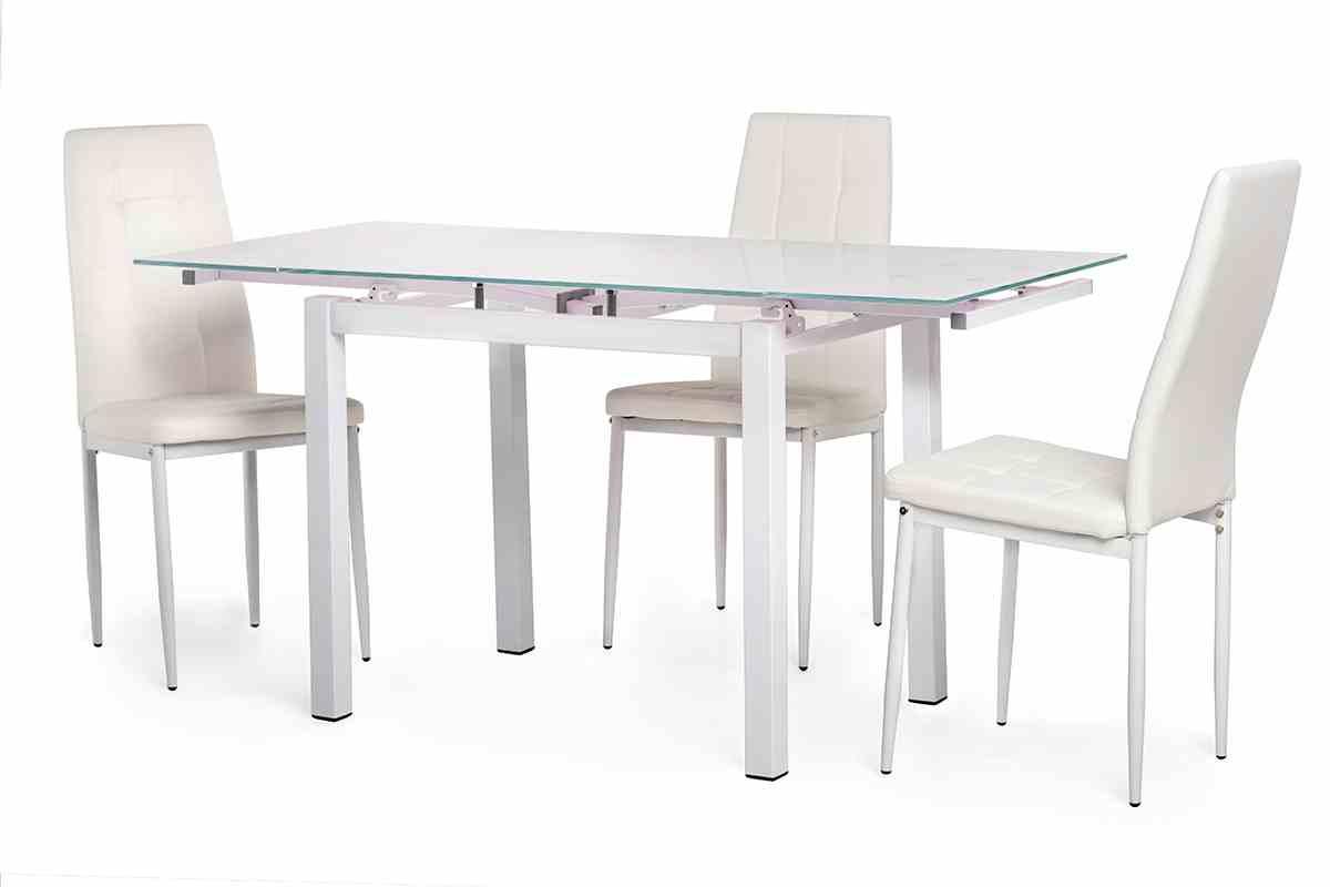 Обідній стіл T-231-8 білий 3