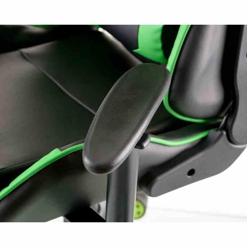 Крісло ExtremeRace black/green 13