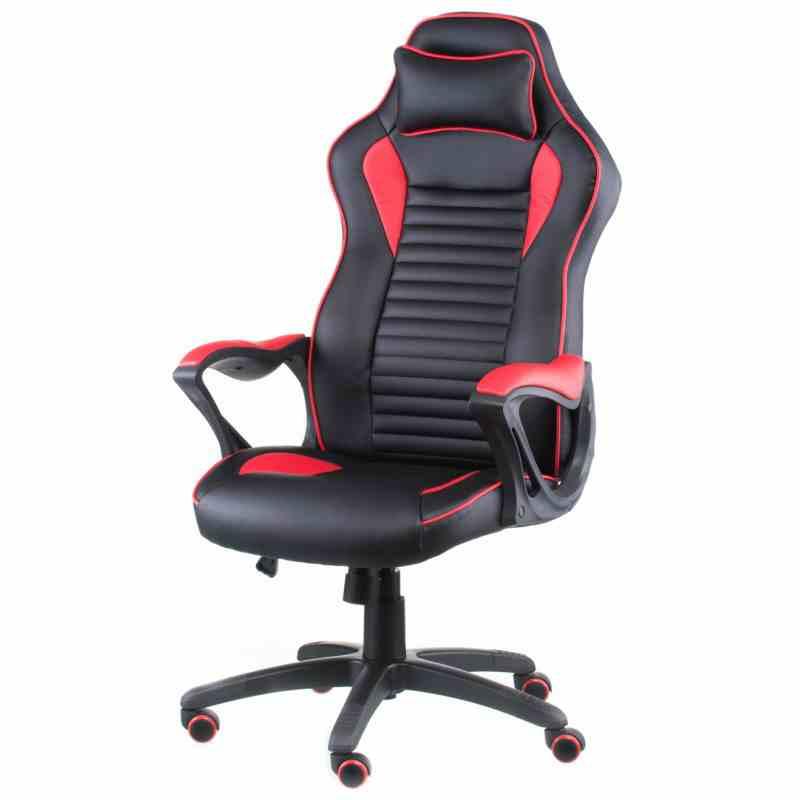 Крісло Nero Black/Red 12