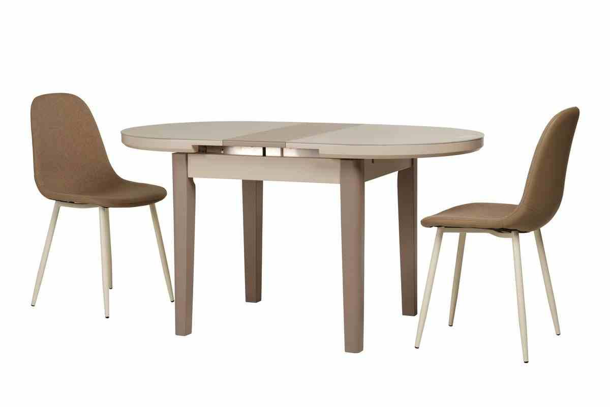 Обідній стіл TM-75 капучино-латте 10