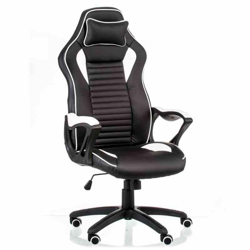 Крісло Nero Black/White 4