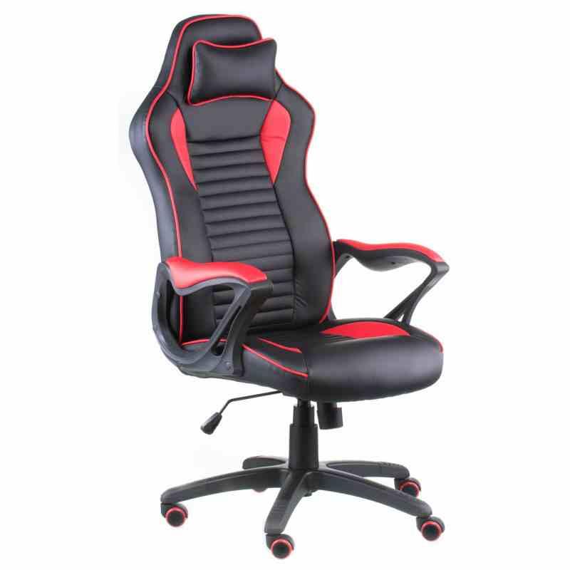 Крісло Nero Black/Red 4