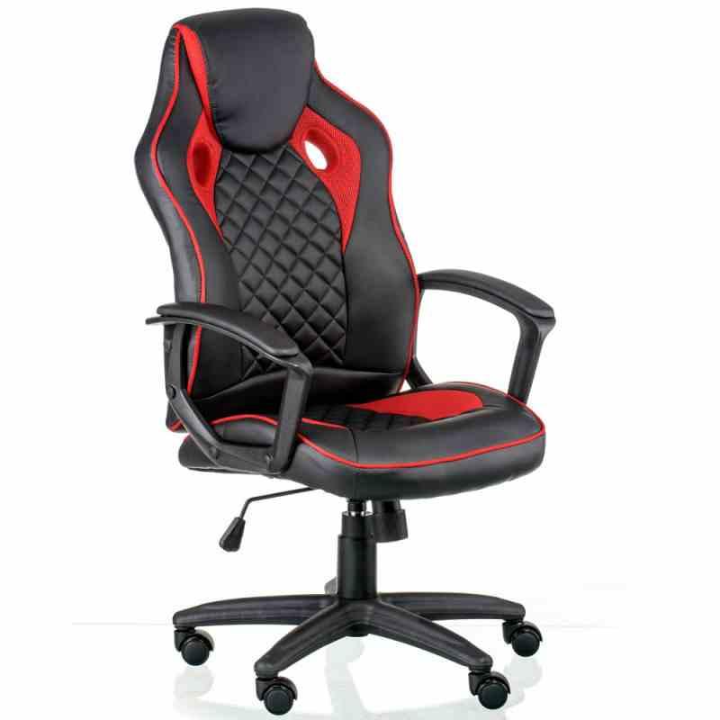 Крісло Mezzo Black/Red 4