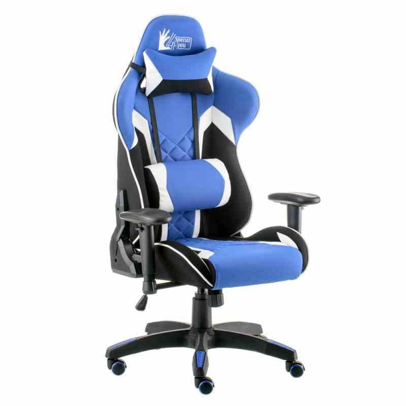 Крісло ExtremeRace 3 black/blue 4