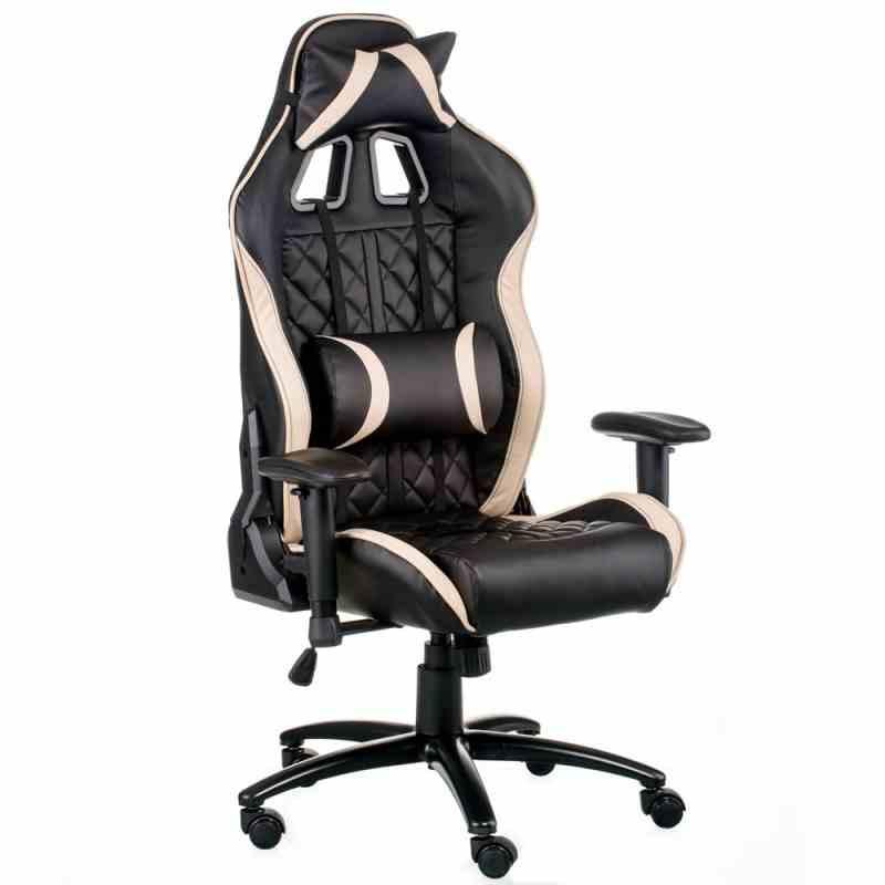 Крісло ExtremeRace Black/Cream 4
