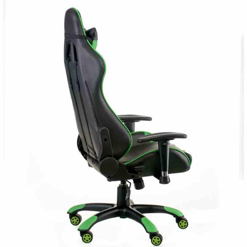 Крісло ExtremeRace black/green 3