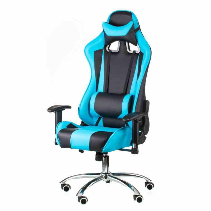 Крісло ExtremeRace black/blue 11