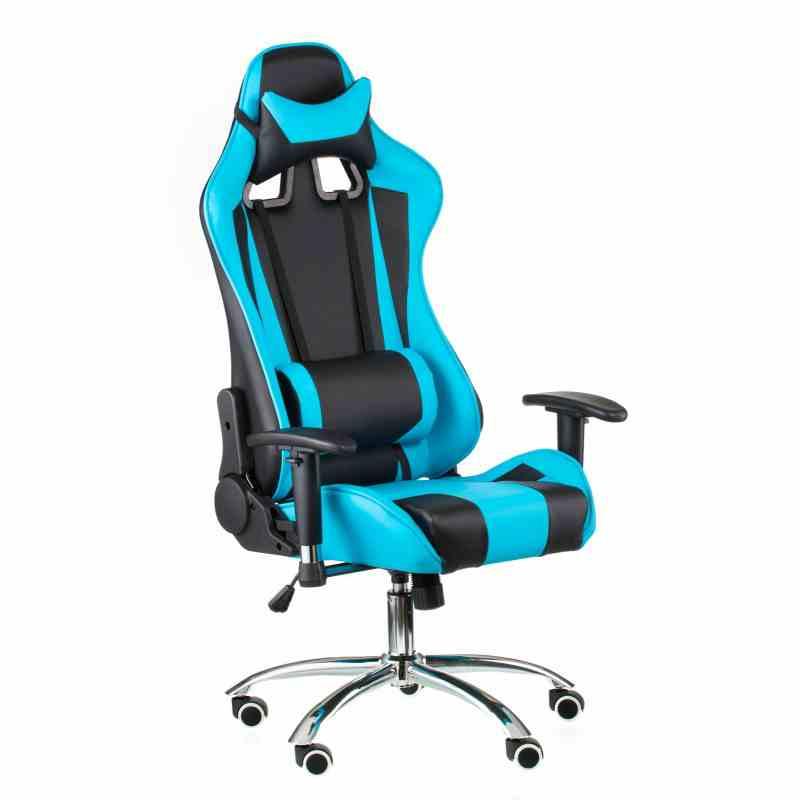 Крісло ExtremeRace black/blue 4