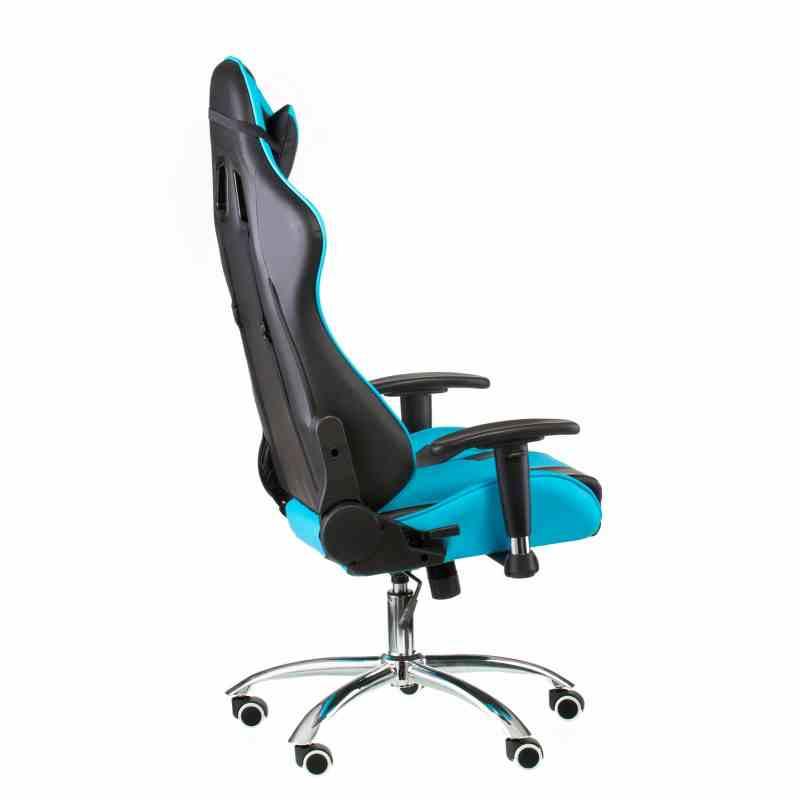 Крісло ExtremeRace black/blue 2