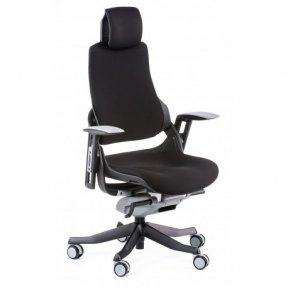 Крісло офісне Wau black fabric