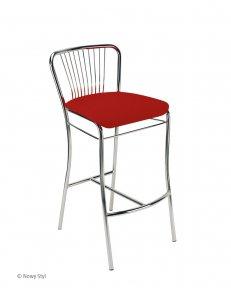 Барний стілець NERON hoker chrome