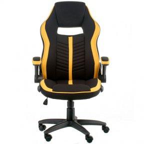 Крісло Prime black/yellow