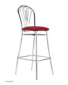 Барний стілець VENUS hocker chrome