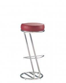 Барний стілець ZETA chrome