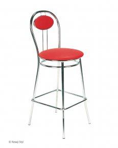 Барний стілець TIZIANO hoker chrome