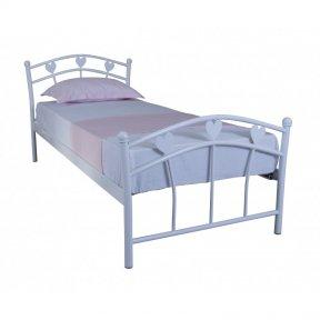 Дитяче односпальне ліжко Eagle MARLENA 900х2000 white