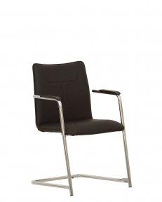 Крісло конференційне DeSILVA arm chrome