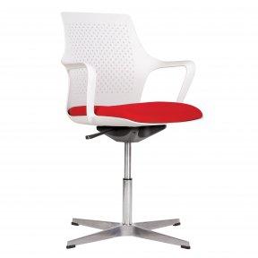 Крісло офісне GEMINA white SWG CROSS