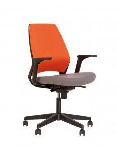 Крісло офісне 4U R 3D black ES PL70 з Синхромеханізмом