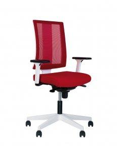 Крісло офісне NAVIGO R net white ES PL71 з «Синхромеханiзмом»