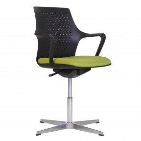 Крісло офісне GEMINA black SWG CROSS