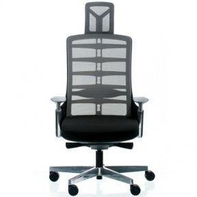 Крісло SPINELLY BLACK/METALLIC