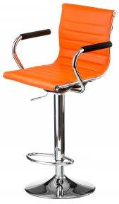 Барний стілець Bar orangе platе