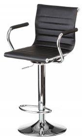 Барний стілець Bar black platе